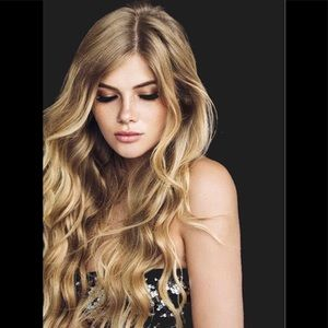 Dirty Blonde Halo Extensions Belle